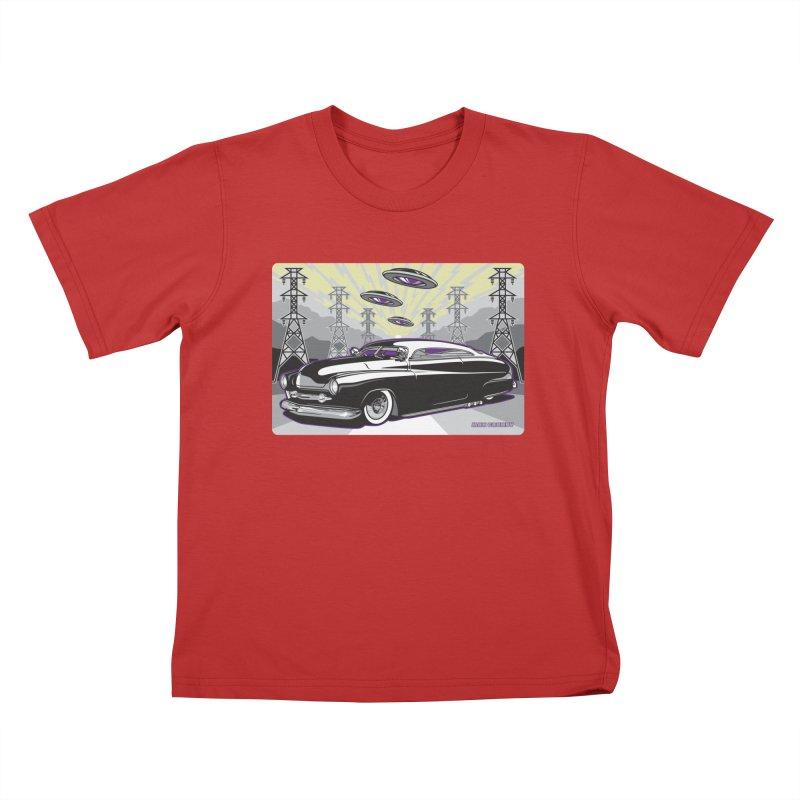 VIVA LAS WASTELAND Kids T-Shirt by Max Grundy Design's Artist Shop