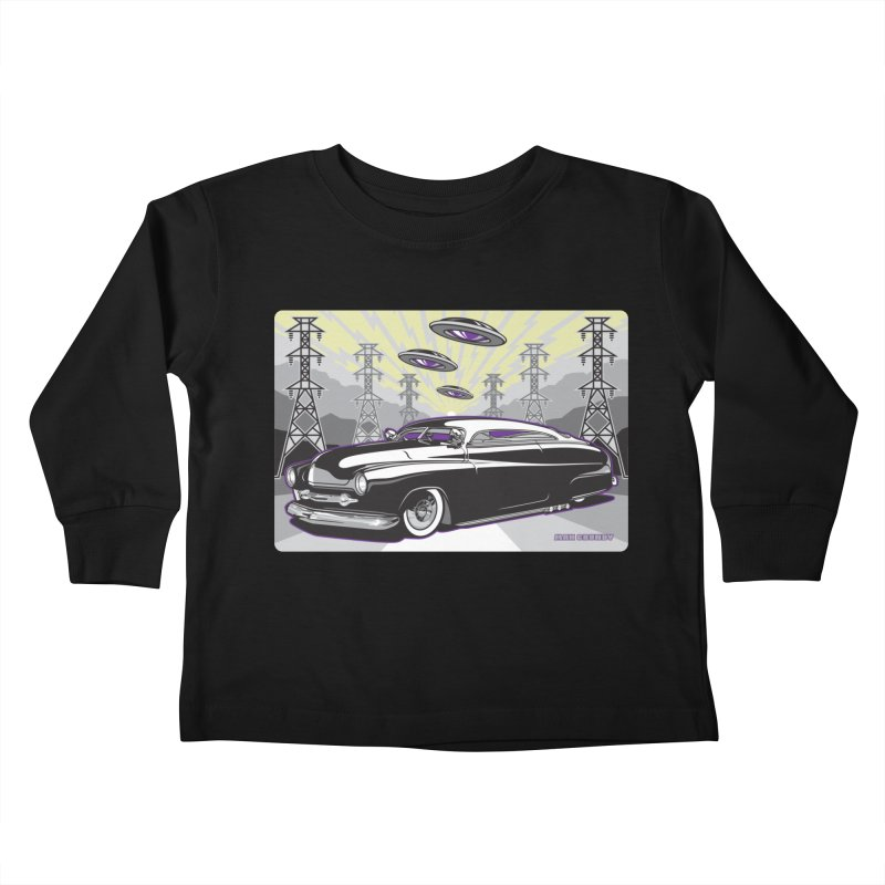 VIVA LAS WASTELAND Kids Toddler Longsleeve T-Shirt by Max Grundy Design's Artist Shop
