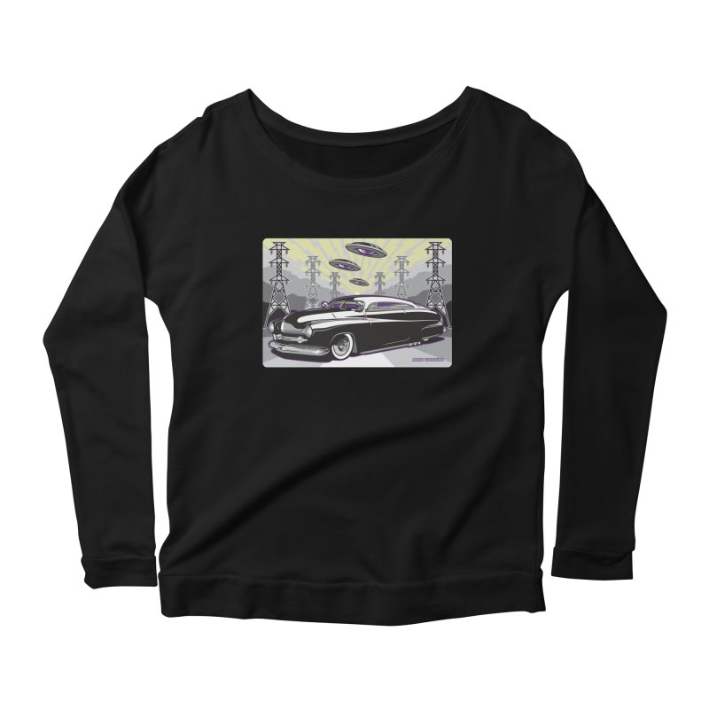 VIVA LAS WASTELAND Women's Scoop Neck Longsleeve T-Shirt by Max Grundy Design's Artist Shop