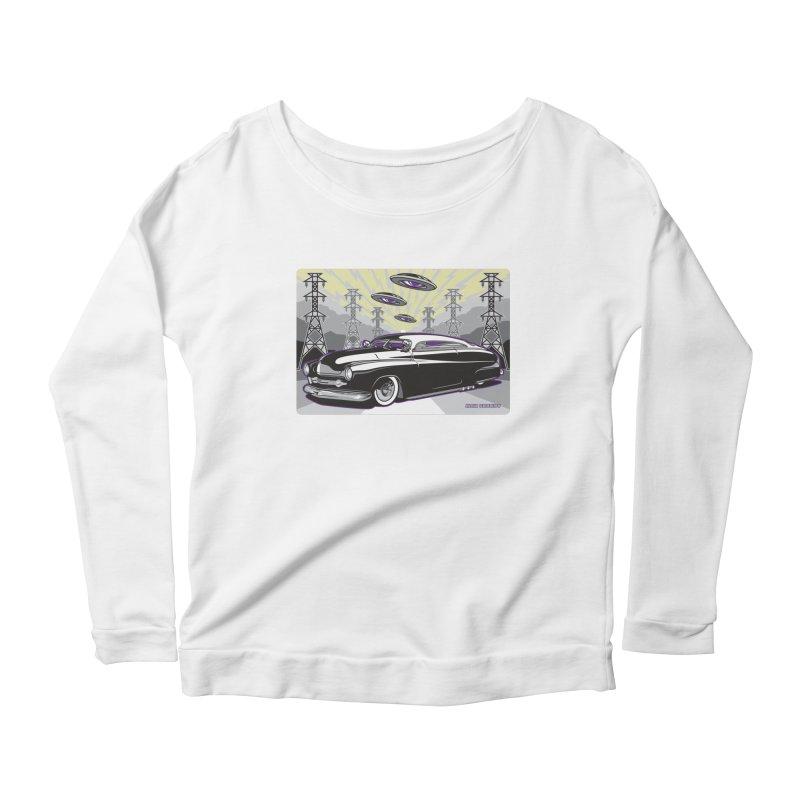VIVA LAS WASTELAND Women's Scoop Neck Longsleeve T-Shirt by Max Grundy Design's Artist Shop