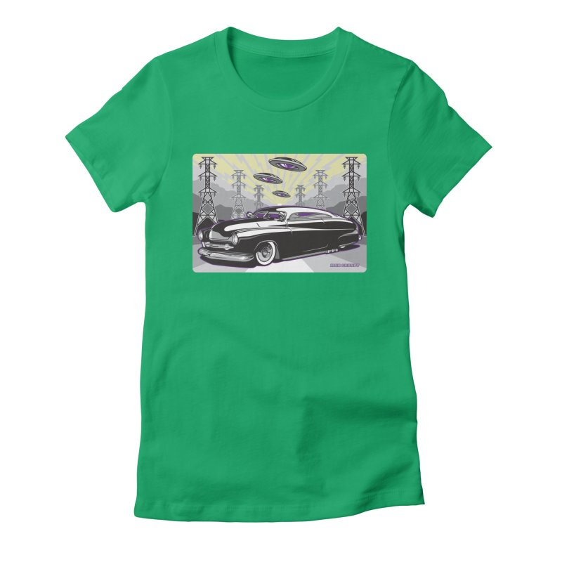 VIVA LAS WASTELAND Women's Fitted T-Shirt by Max Grundy Design's Artist Shop