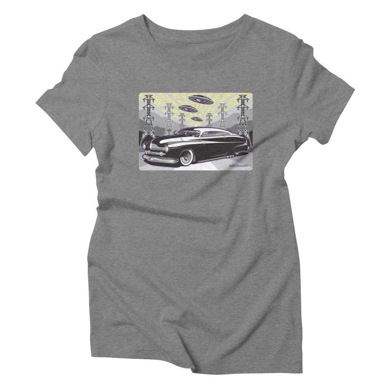 VIVA LAS WASTELAND Women's Triblend T-Shirt by Max Grundy Design's Artist Shop