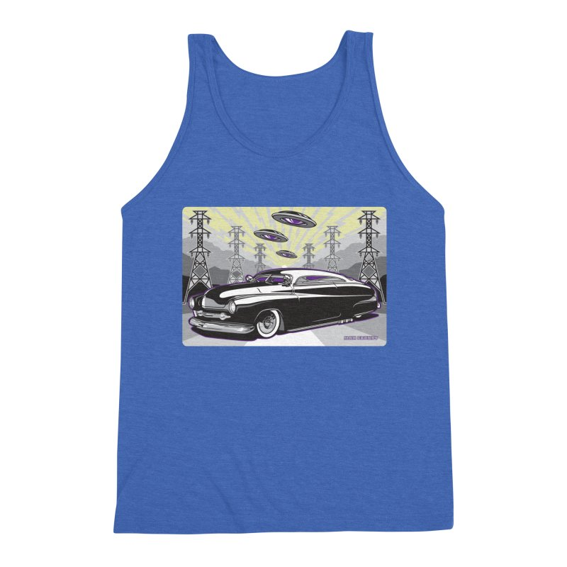 VIVA LAS WASTELAND Men's Triblend Tank by Max Grundy Design's Artist Shop