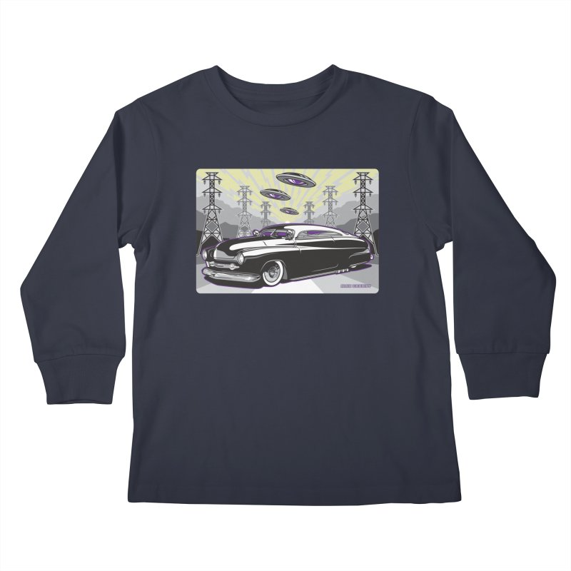 VIVA LAS WASTELAND Kids Longsleeve T-Shirt by Max Grundy Design's Artist Shop