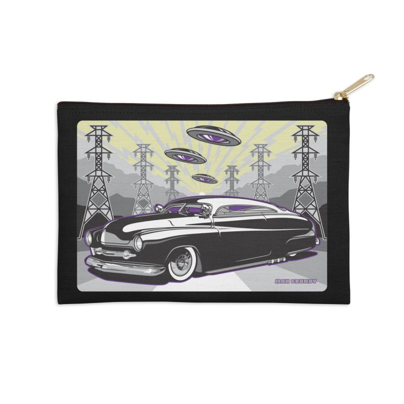 VIVA LAS WASTELAND Accessories Zip Pouch by Max Grundy Design's Artist Shop