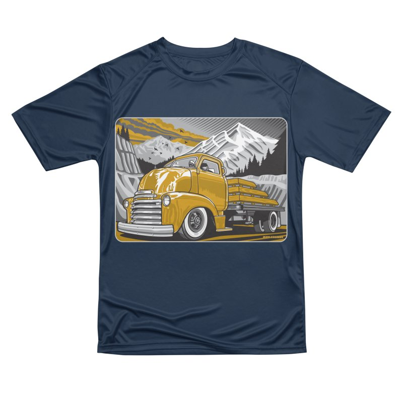 MOUNTAIN HARVEST Women's Performance Unisex T-Shirt by Max Grundy Design's Artist Shop