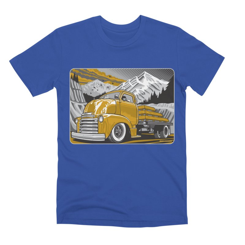 MOUNTAIN HARVEST Men's Premium T-Shirt by Max Grundy Design's Artist Shop