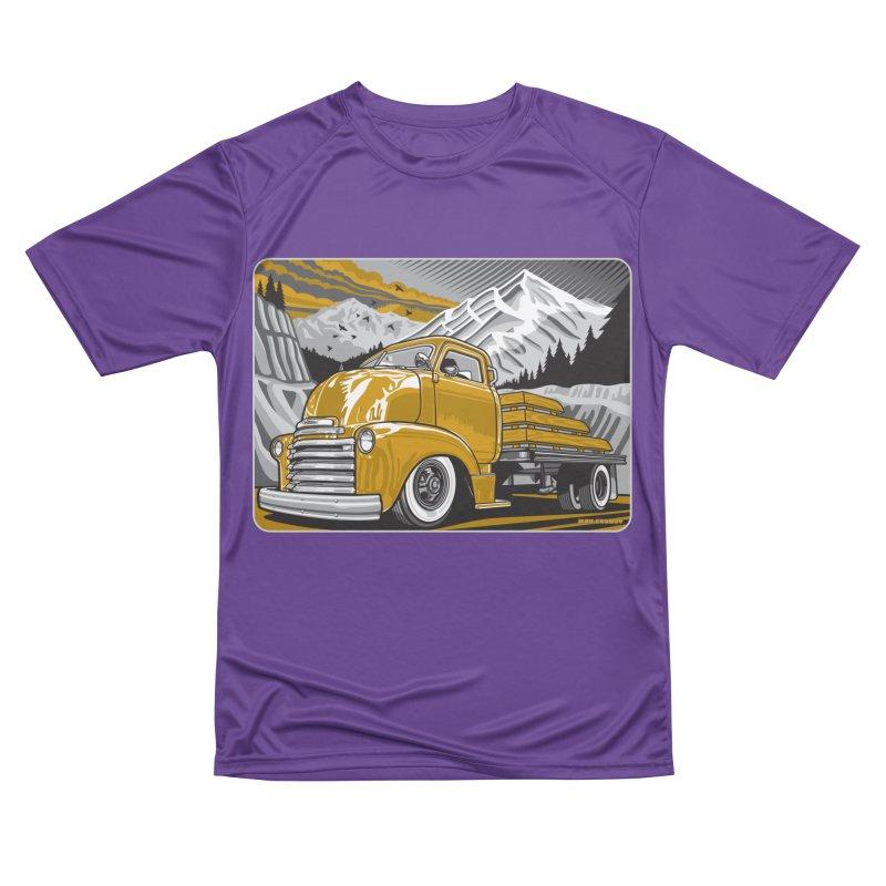 MOUNTAIN HARVEST Women's Performance Unisex T-Shirt by Max Grundy Design's Artist Shop