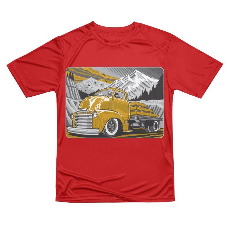 MOUNTAIN HARVEST Men's Performance T-Shirt by Max Grundy Design's Artist Shop