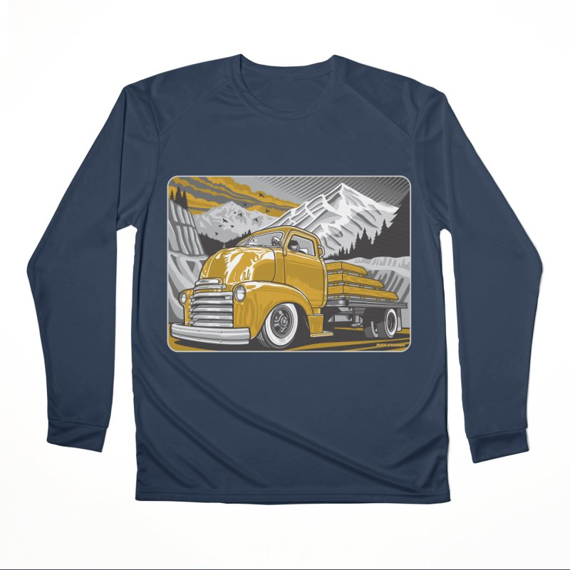 MOUNTAIN HARVEST Women's Performance Unisex Longsleeve T-Shirt by Max Grundy Design's Artist Shop