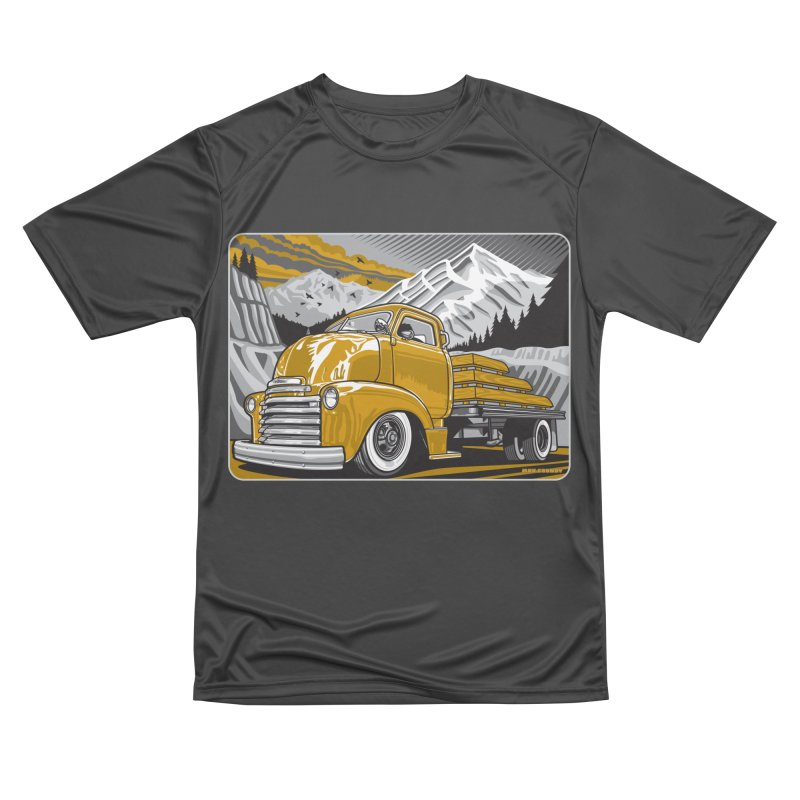 MOUNTAIN HARVEST Men's Performance T-Shirt by Max Grundy Design's Artist Shop