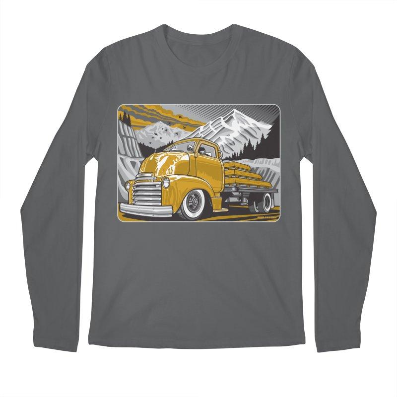 MOUNTAIN HARVEST Men's Regular Longsleeve T-Shirt by Max Grundy Design's Artist Shop