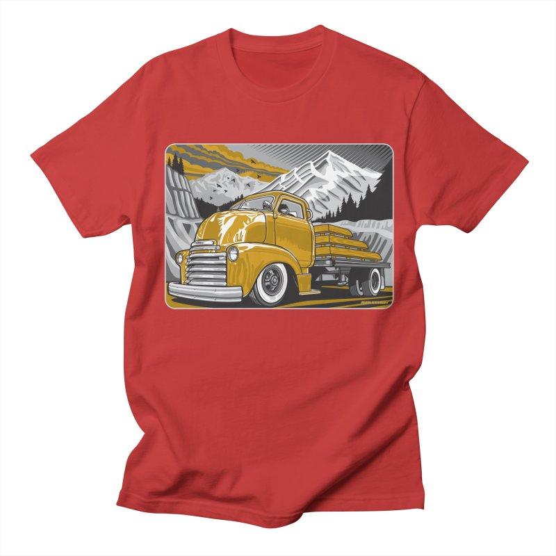 MOUNTAIN HARVEST Men's Regular T-Shirt by Max Grundy Design's Artist Shop