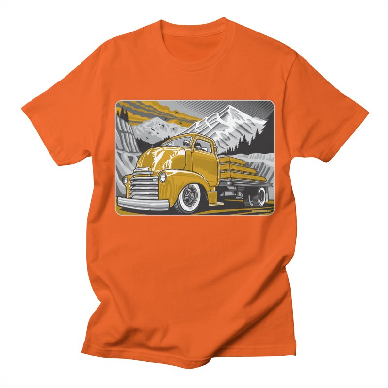 MOUNTAIN HARVEST Men's Regular T-Shirt by Max Grundy Design's Artist Shop