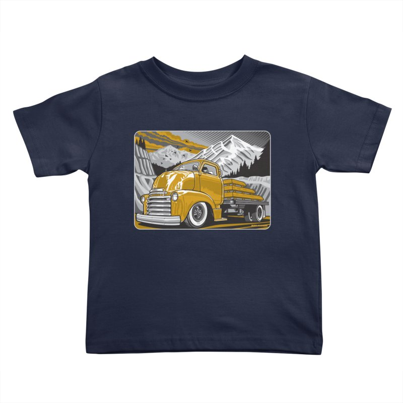 MOUNTAIN HARVEST Kids Toddler T-Shirt by Max Grundy Design's Artist Shop