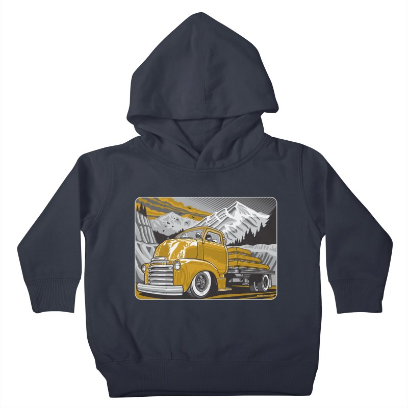 MOUNTAIN HARVEST Kids Toddler Pullover Hoody by Max Grundy Design's Artist Shop