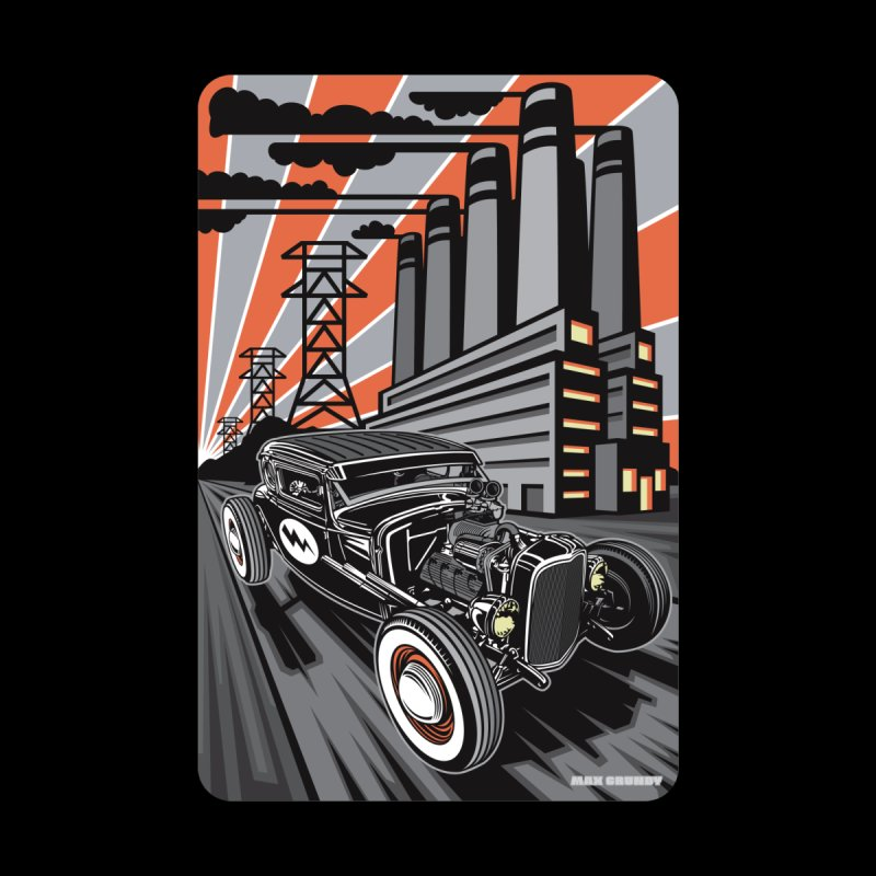 VOLTAGE HIGHWAY Accessories Greeting Card by Max Grundy Design's Artist Shop