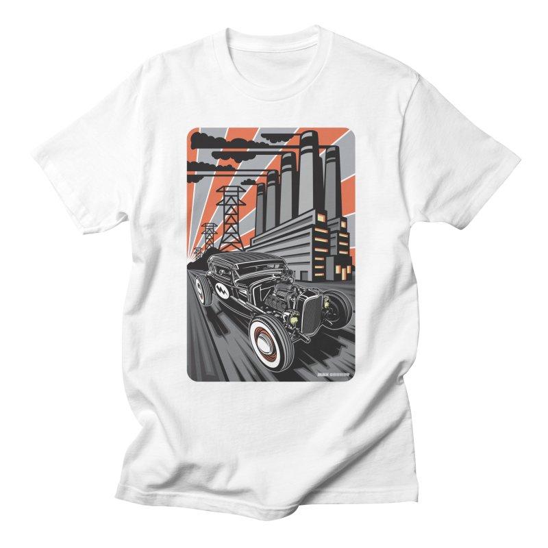 VOLTAGE HIGHWAY Men's T-Shirt by Max Grundy Design's Artist Shop