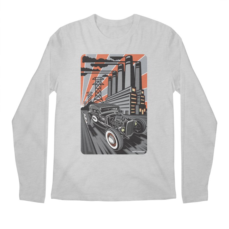 VOLTAGE HIGHWAY Men's Regular Longsleeve T-Shirt by Max Grundy Design's Artist Shop