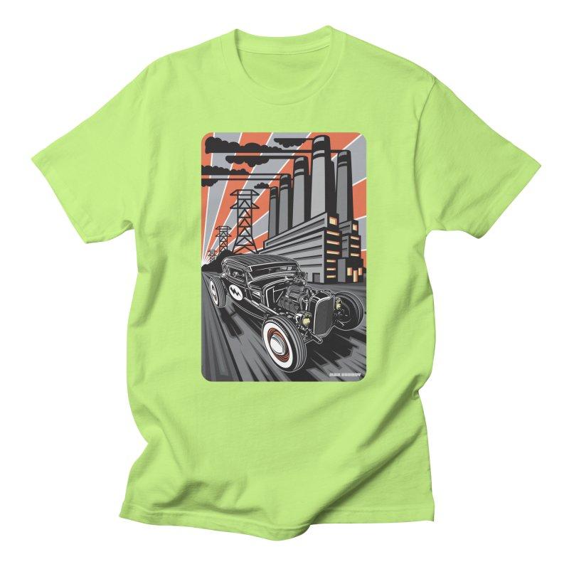 VOLTAGE HIGHWAY Women's Regular Unisex T-Shirt by Max Grundy Design's Artist Shop