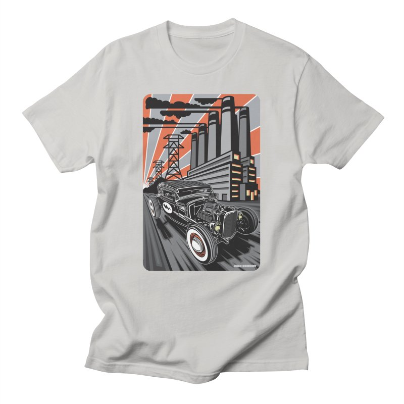 VOLTAGE HIGHWAY Men's Regular T-Shirt by Max Grundy Design's Artist Shop