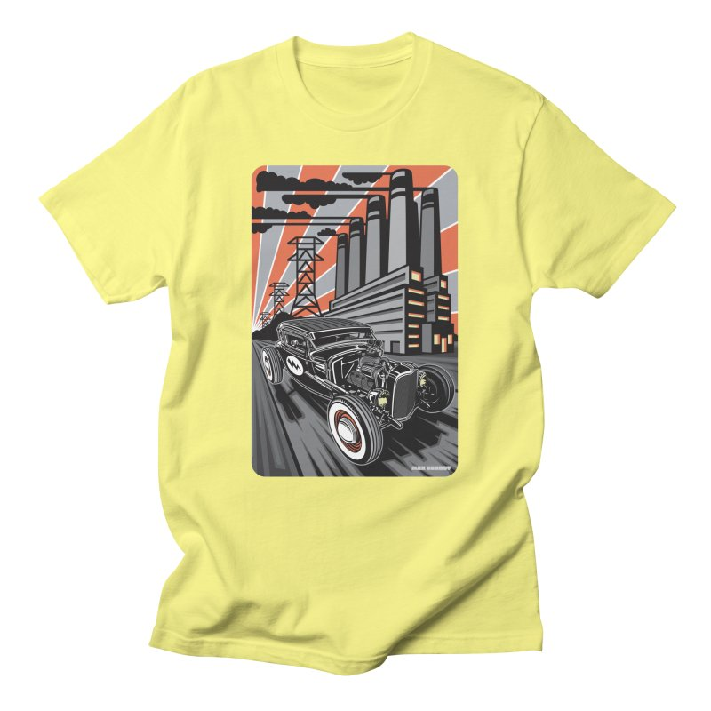 VOLTAGE HIGHWAY Men's Regular T-Shirt by Max Grundy Design's Artist Shop