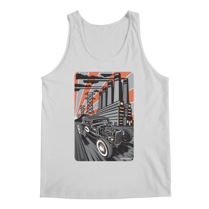 VOLTAGE HIGHWAY Men's Regular Tank by Max Grundy Design's Artist Shop
