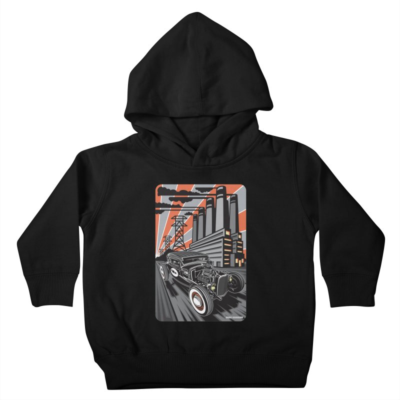 VOLTAGE HIGHWAY Kids Toddler Pullover Hoody by Max Grundy Design's Artist Shop
