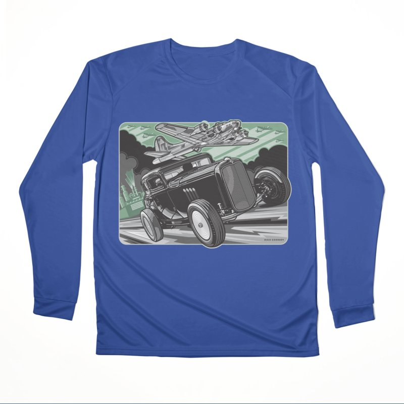 CHEMICAL CITY COUPE Men's Performance Longsleeve T-Shirt by Max Grundy Design's Artist Shop