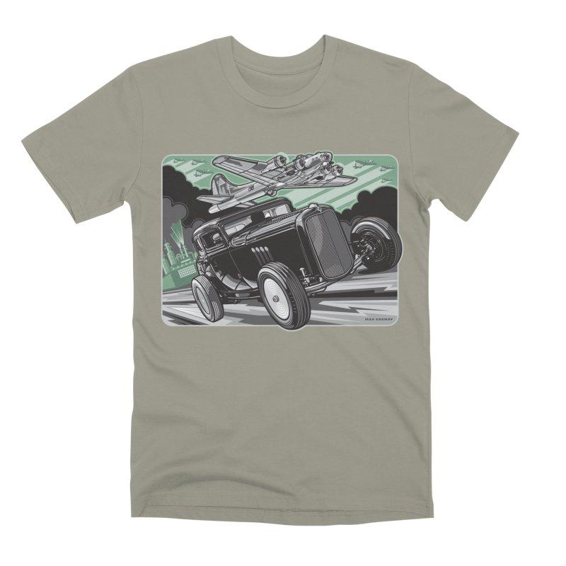 CHEMICAL CITY COUPE Men's Premium T-Shirt by Max Grundy Design's Artist Shop