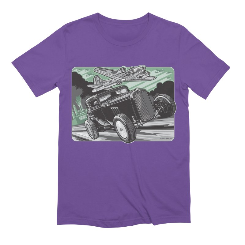 CHEMICAL CITY COUPE Men's Extra Soft T-Shirt by Max Grundy Design's Artist Shop