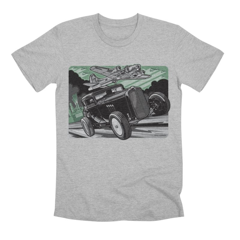 CHEMICAL CITY COUPE Men's Premium T-Shirt by Max Grundy Design's Artist Shop