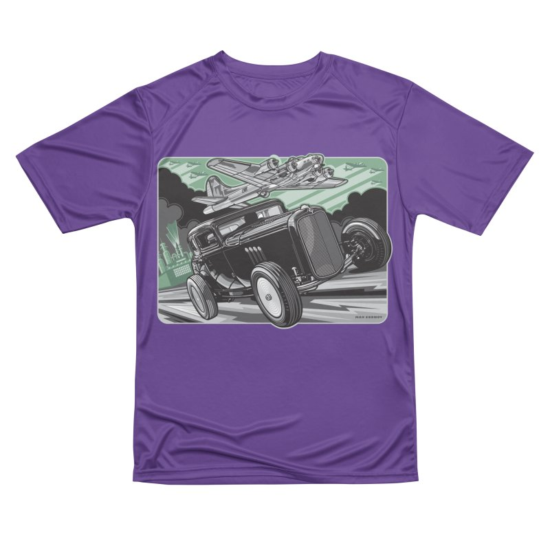 CHEMICAL CITY COUPE Men's Performance T-Shirt by Max Grundy Design's Artist Shop