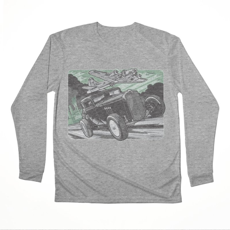 CHEMICAL CITY COUPE Women's Performance Unisex Longsleeve T-Shirt by Max Grundy Design's Artist Shop