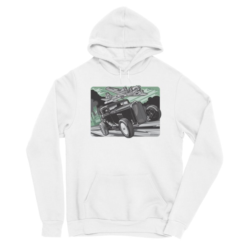CHEMICAL CITY COUPE Men's Sponge Fleece Pullover Hoody by Max Grundy Design's Artist Shop