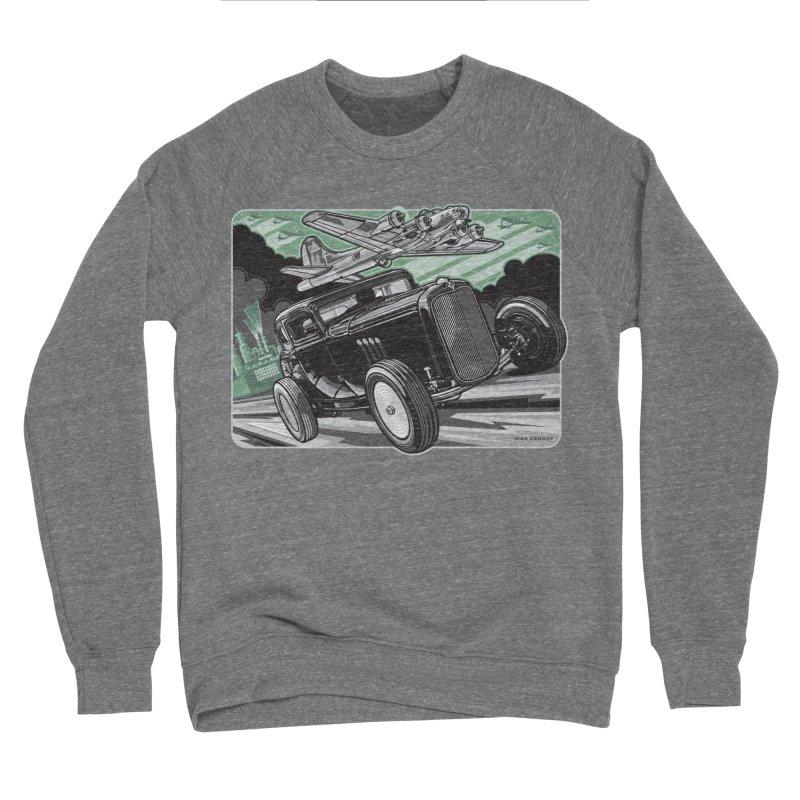 CHEMICAL CITY COUPE Men's Sponge Fleece Sweatshirt by Max Grundy Design's Artist Shop