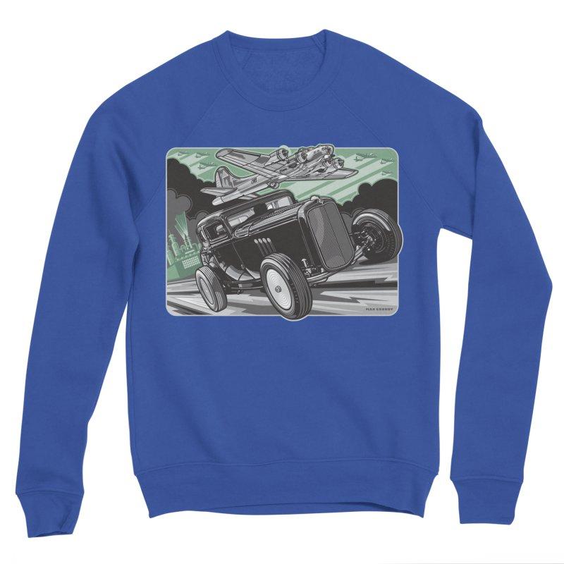 CHEMICAL CITY COUPE Women's Sponge Fleece Sweatshirt by Max Grundy Design's Artist Shop