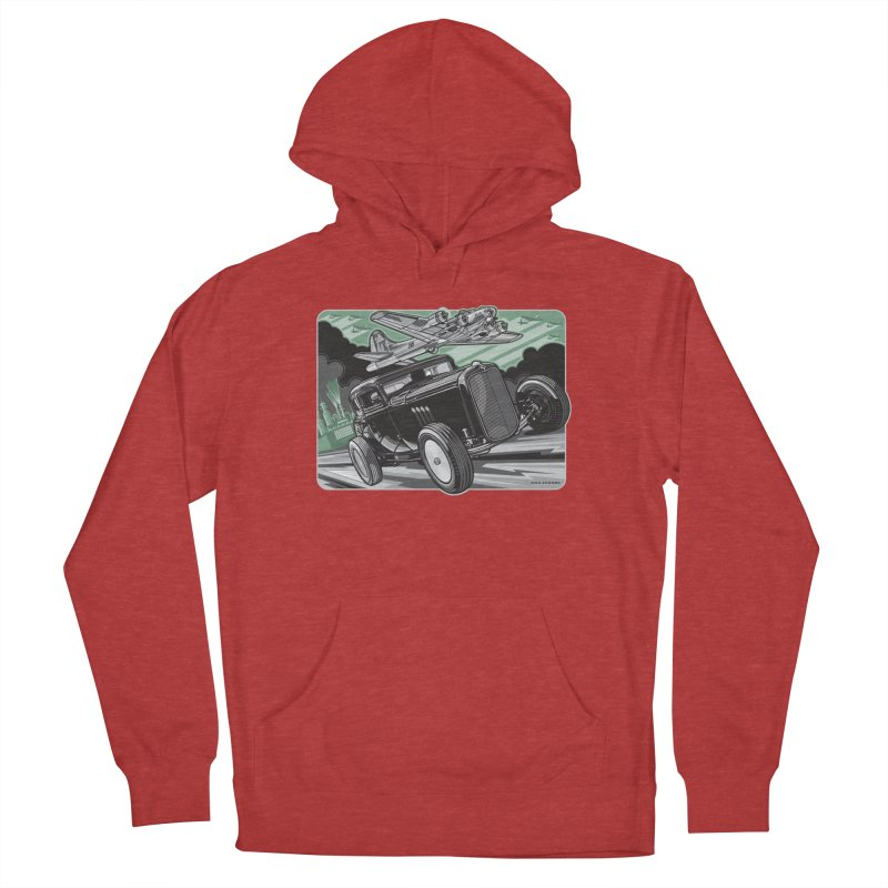 CHEMICAL CITY COUPE Women's French Terry Pullover Hoody by Max Grundy Design's Artist Shop