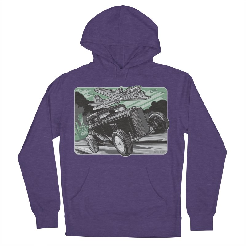 CHEMICAL CITY COUPE Men's French Terry Pullover Hoody by Max Grundy Design's Artist Shop
