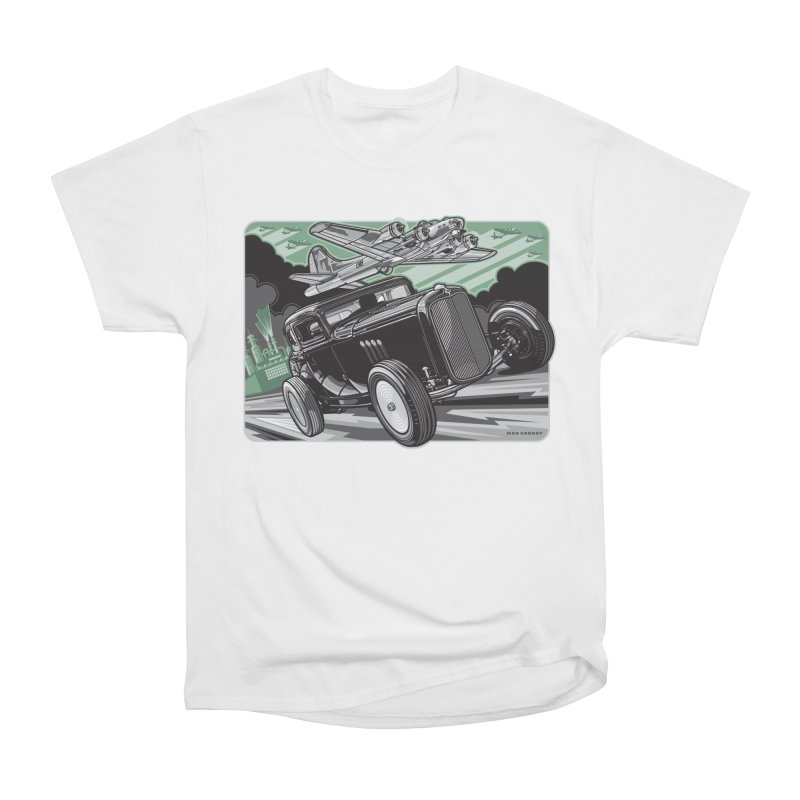 CHEMICAL CITY COUPE Men's Heavyweight T-Shirt by Max Grundy Design's Artist Shop