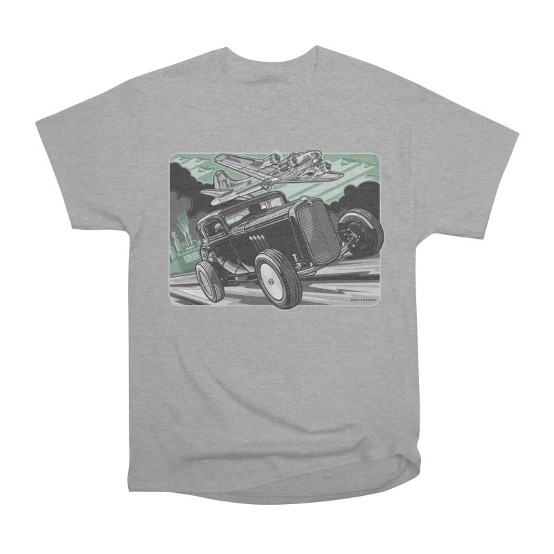 CHEMICAL CITY COUPE Women's Heavyweight Unisex T-Shirt by Max Grundy Design's Artist Shop