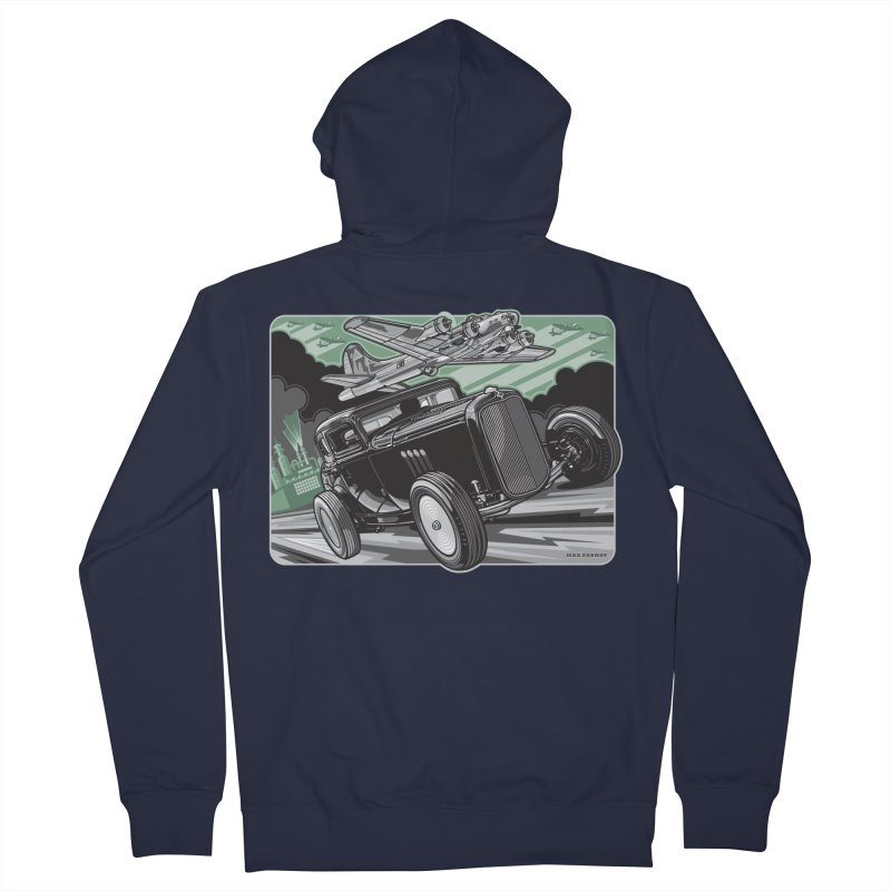 CHEMICAL CITY COUPE Men's French Terry Zip-Up Hoody by Max Grundy Design's Artist Shop