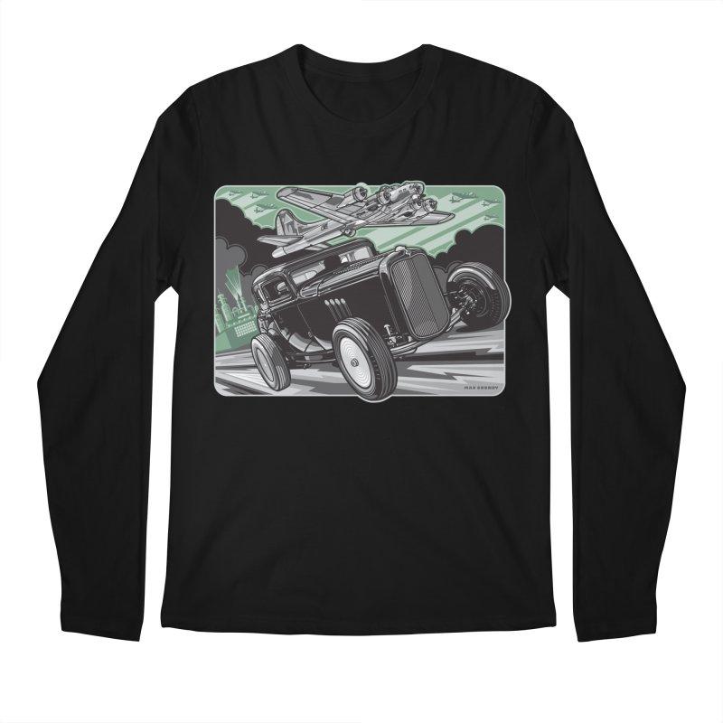 CHEMICAL CITY COUPE Men's Regular Longsleeve T-Shirt by Max Grundy Design's Artist Shop