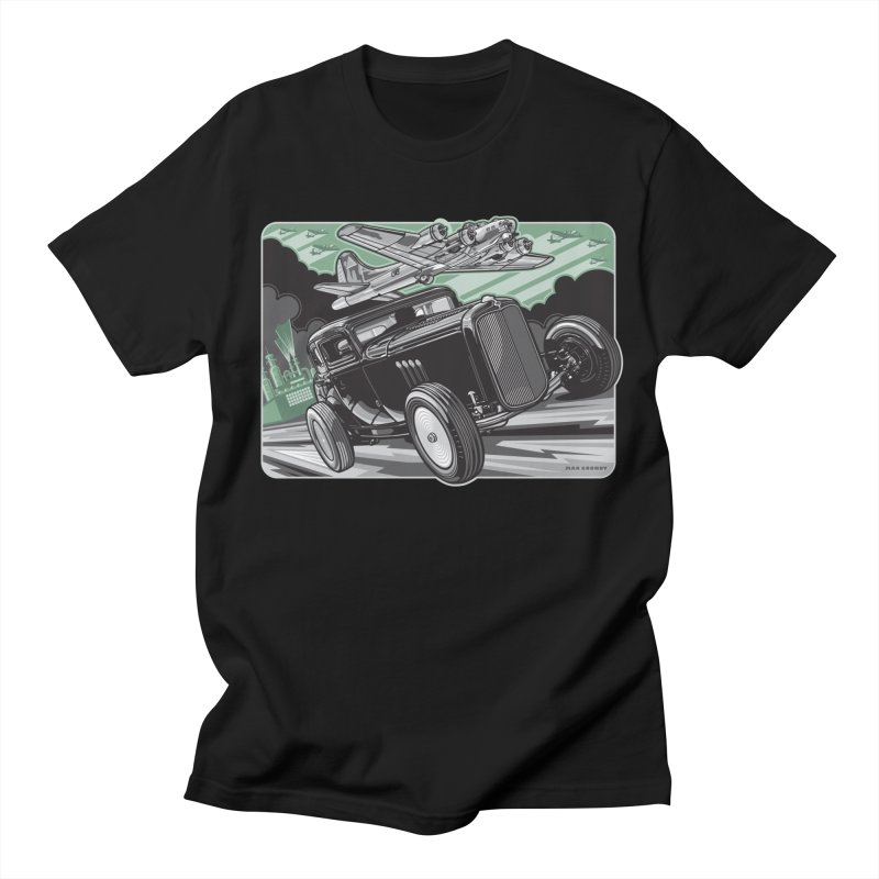 CHEMICAL CITY COUPE Men's Regular T-Shirt by Max Grundy Design's Artist Shop