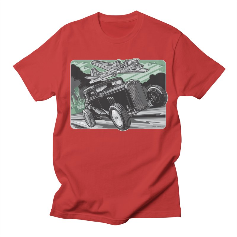 CHEMICAL CITY COUPE Women's Regular Unisex T-Shirt by Max Grundy Design's Artist Shop