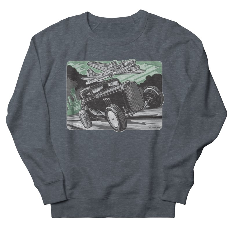 CHEMICAL CITY COUPE Men's French Terry Sweatshirt by Max Grundy Design's Artist Shop