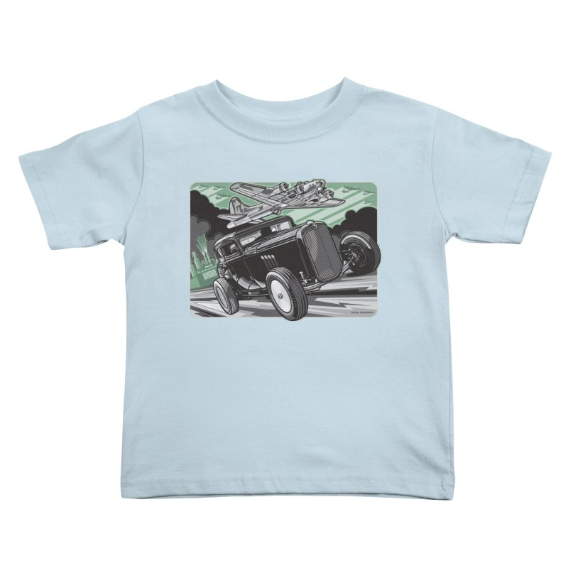 CHEMICAL CITY COUPE Kids Toddler T-Shirt by Max Grundy Design's Artist Shop