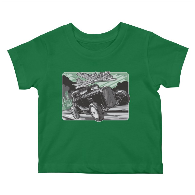 CHEMICAL CITY COUPE Kids Baby T-Shirt by Max Grundy Design's Artist Shop