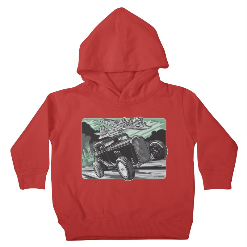 CHEMICAL CITY COUPE Kids Toddler Pullover Hoody by Max Grundy Design's Artist Shop