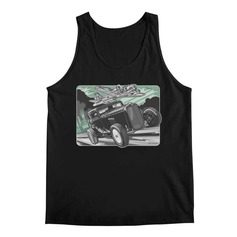 CHEMICAL CITY COUPE Men's Regular Tank by Max Grundy Design's Artist Shop